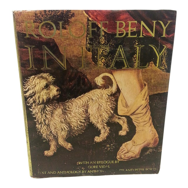 "Roloff Beny ""In Italy"" 1974 1st Edition For Sale"