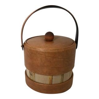 Vintage Mid Century Ice Bucket For Sale