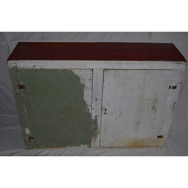 Cupboard Freestanding From Mid-1900s for Hallway, Kitchen or Entranceway Storage For Sale - Image 11 of 12
