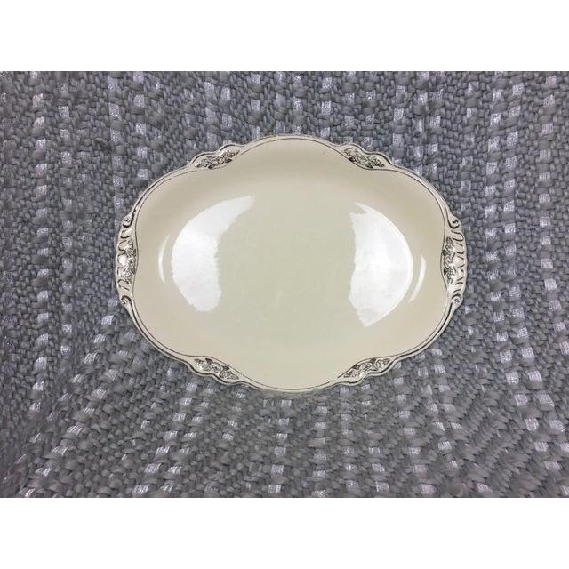 Ceramic Homer Laughlin Virginia Rose Serving Platter For Sale - Image 7 of 7