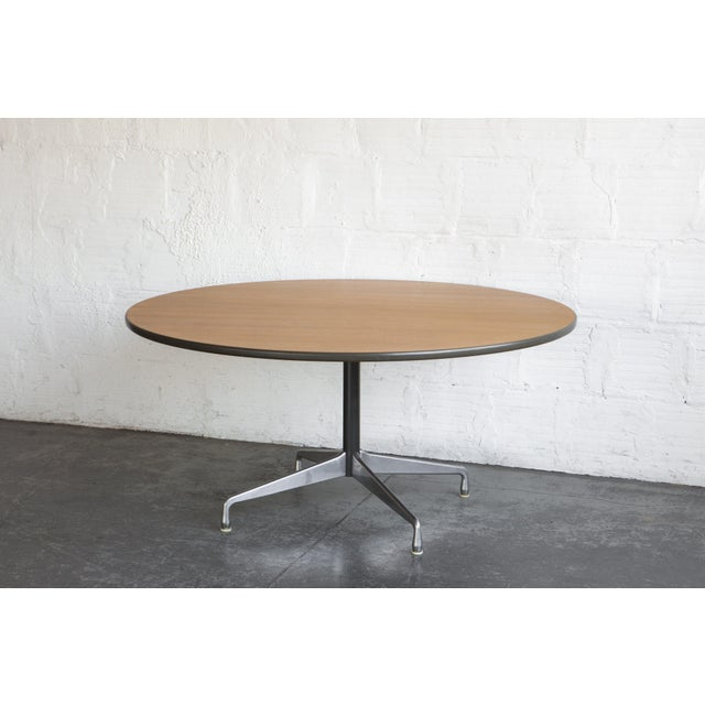 Herman Miller Oak Dining Table - Image 3 of 5
