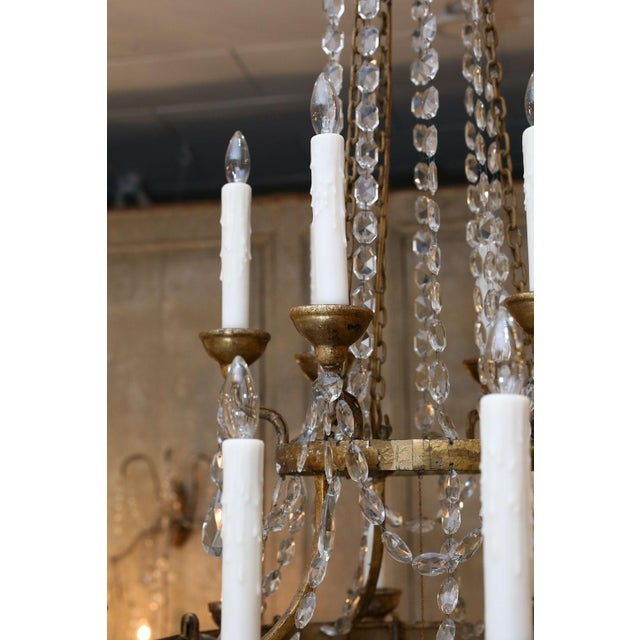 Large-Scale Neoclassical Chandelier For Sale - Image 11 of 13