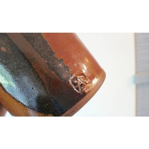 Modernist Abstract Studio Pottery Vase - Image 9 of 11