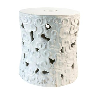 White Cloud Stool For Sale