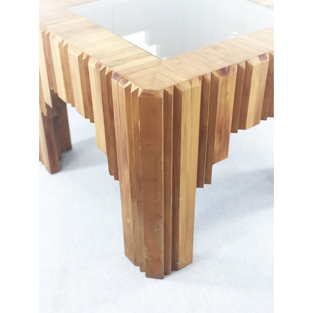 Mid-Century Modern Paul Follot Coffee Table by Paul Follot From 1929 in Wood For Sale - Image 3 of 5