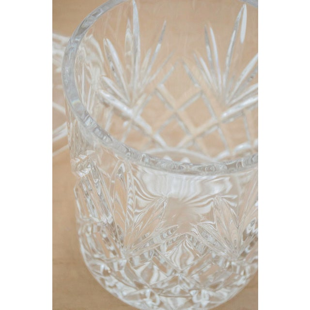 Lead Crystal Ice Bucket With Lid - Image 3 of 6