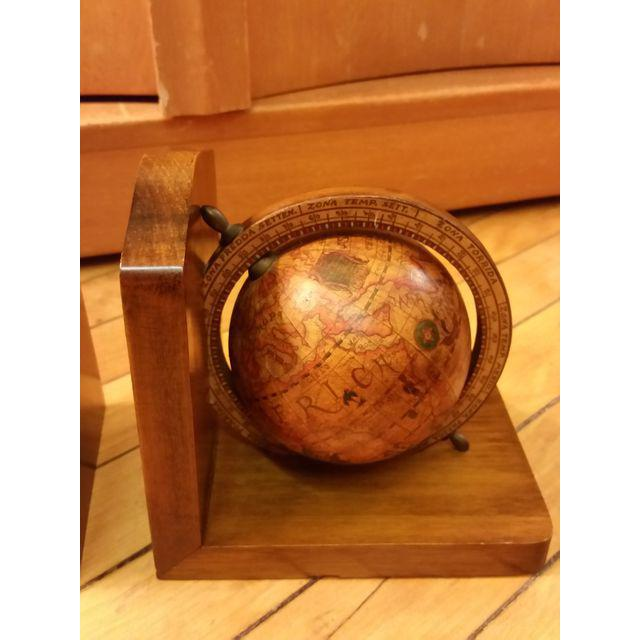 Olde World Globe Bookends - A Pair - Image 6 of 9