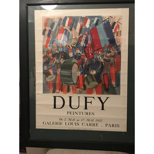 Mourlot & Raoul Dufy 1952 Exhibition Poster - Image 6 of 7