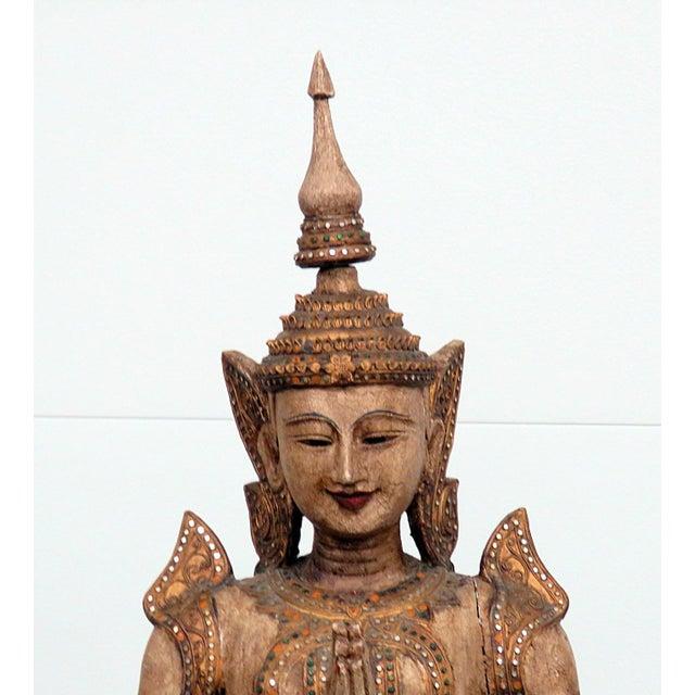 Tibetan Goddess Statue For Sale - Image 4 of 12