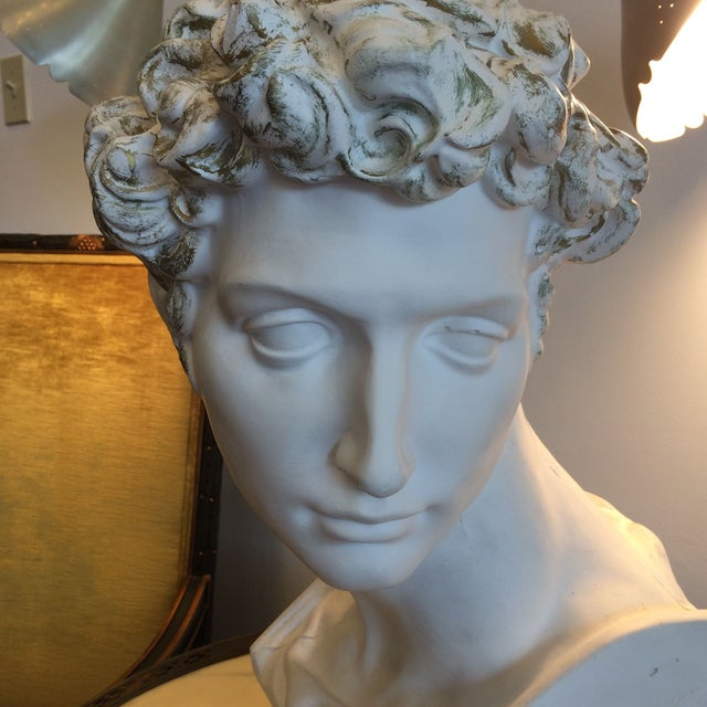 Plaster Bust Of David - Image 7 of 8