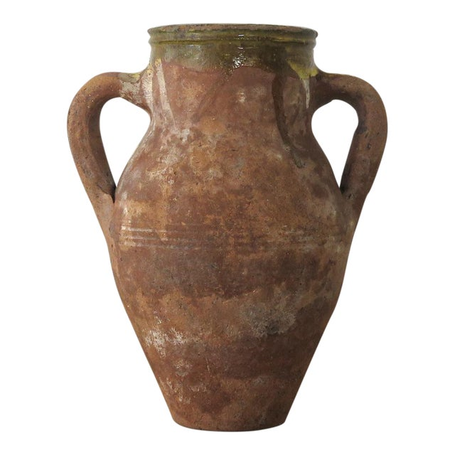 Turkish Terra Cotta Olive Jar - Image 1 of 10