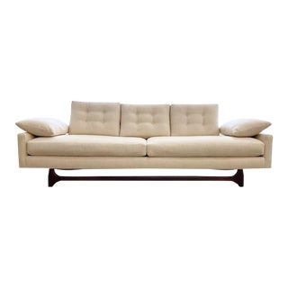 Adrian Pearsall Style Gondola Sofa For Sale