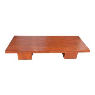 1970s Mid-Century Modern John Keal Coffee Table For Sale