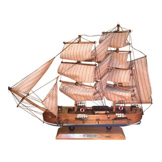 Antique Wooden Ship For Sale