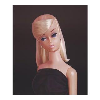 """""""Platinum Swirl in Black Magic"""" Barbie Painting"""