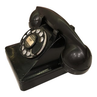 1940s Vintage Western Electric Desk Phone For Sale