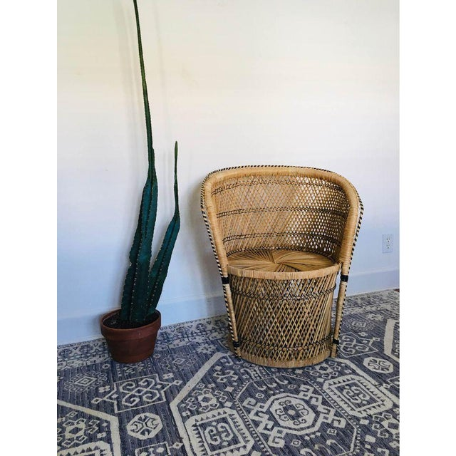 Mid-Century Modern 1960s Vintage Peacock Chair For Sale - Image 3 of 3