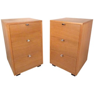Pair Mid-Century Kent Coffey Nightstands For Sale