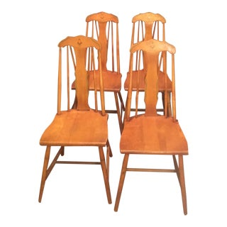 Hale Spindle Dining Chairs Vermont - Set of 4 For Sale