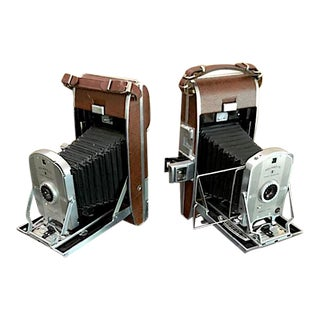 Vintage Polaroid First Generation Bookends. - a Pair For Sale