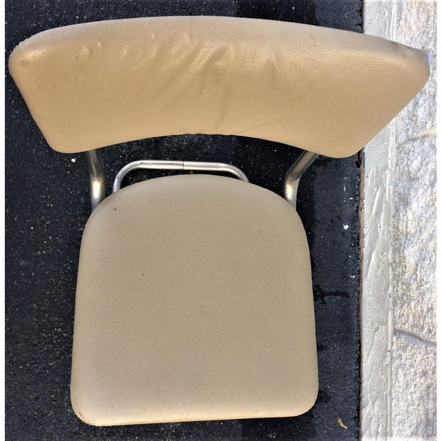 Art Deco Tube Side Chair For Sale In Washington DC - Image 6 of 7