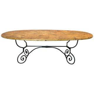 French Country Dining Table For Sale