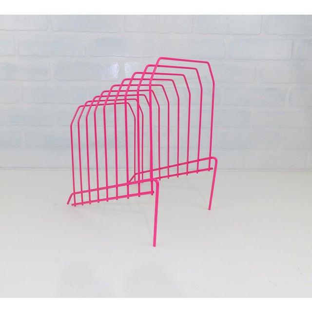 Super cool album or file holder. Amazing Vintage Pink Magenta Color. Perfect gift for that vintage album lover....