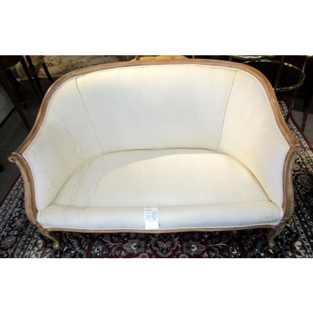 Country French Style Settee For Sale - Image 9 of 13