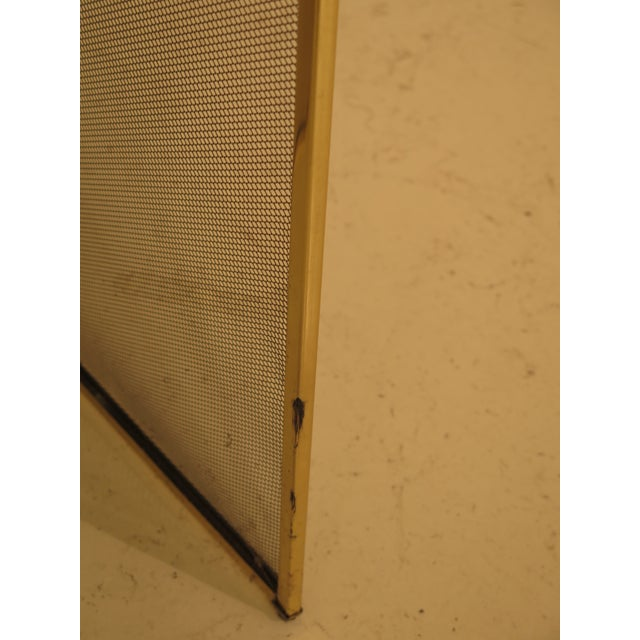 1980s French Louis XV Style Brass Folding Firescreen For Sale - Image 5 of 10
