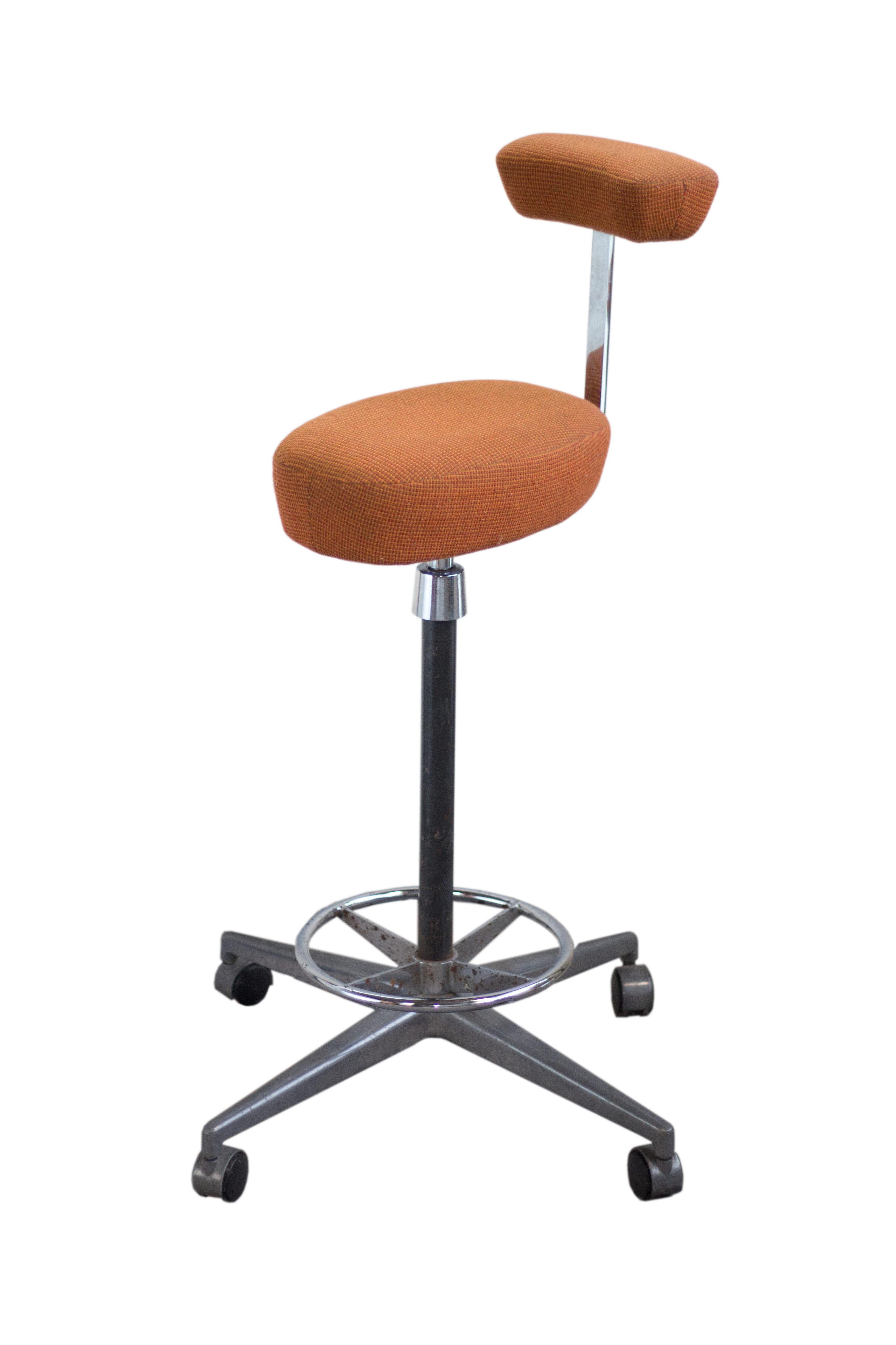 Herman Miller George Nelson Probst Perch Stool Chairish