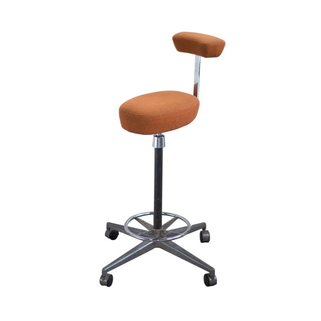 Herman Miller George Nelson Probst Perch Stool For Sale