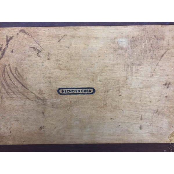 Vintage Cigar Humidor For Sale - Image 11 of 12