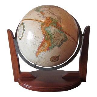 USSR Era Replogle Globe on Classic Stand