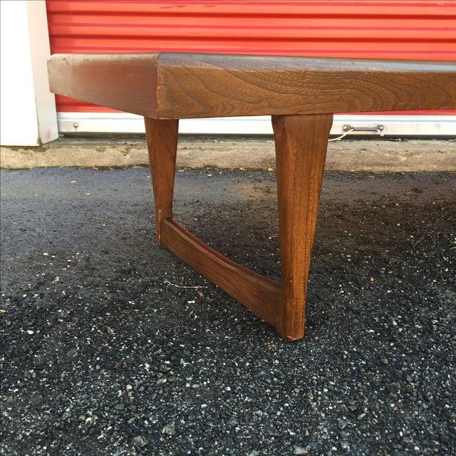 Mid Century Modern Walnut Coffee Table - Image 4 of 10