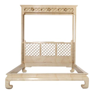Henredon Lattice Canopy Bed For Sale