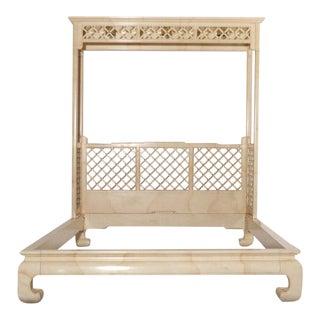 Henredon Lattice Canopy Bed For Sale