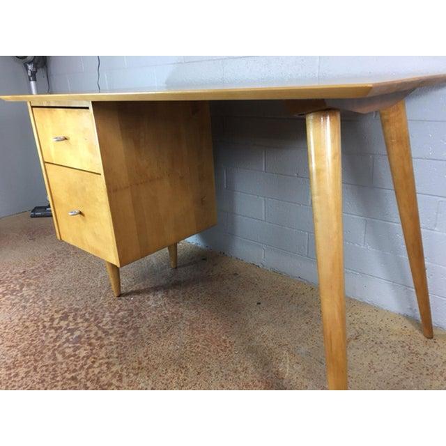 Birch Paul McCobb Planner Series Desk For Sale - Image 7 of 9