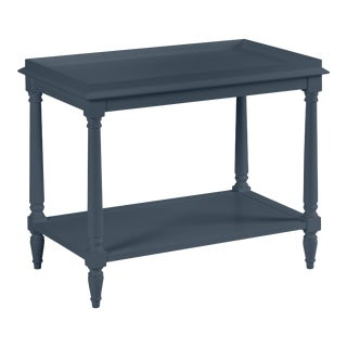 Casa Cosima Revere Side Table, Hale Navy For Sale