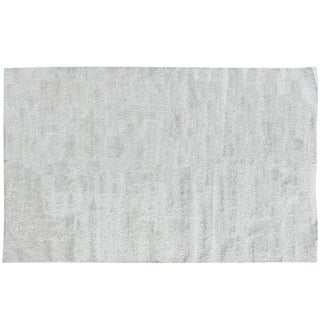"Stark Studio Rugs Contemporary Metallic Dhurrie Rug - 8'10"" X 11'9"" For Sale"