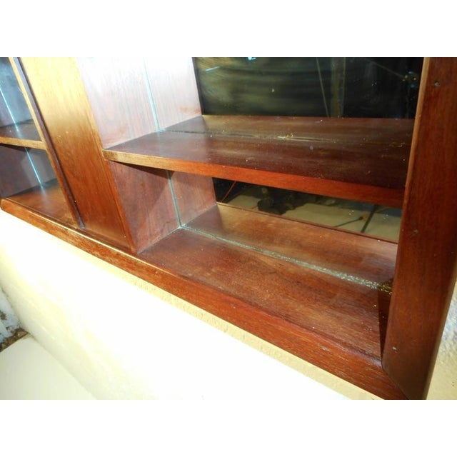 Mid-Century Modern Mid-Century Modern Walnut and Mirrored Shadow Box For Sale - Image 3 of 7