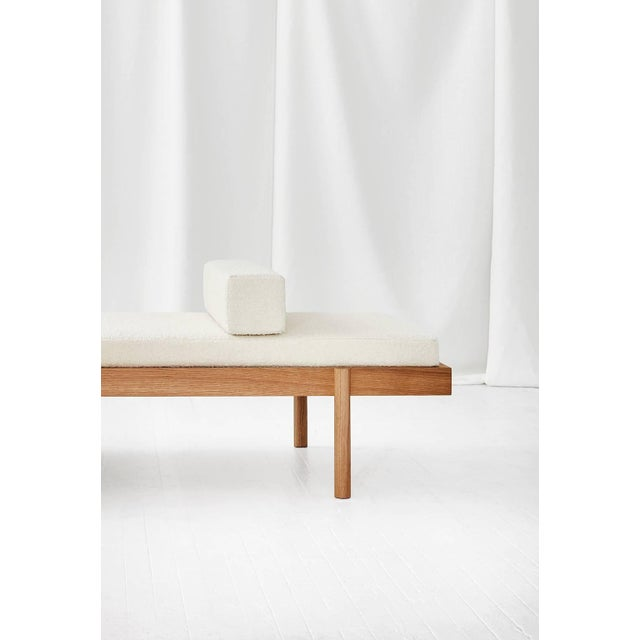 Early 21st Century Wc2 Daybed by Ash Nyc in White Oak For Sale - Image 5 of 10