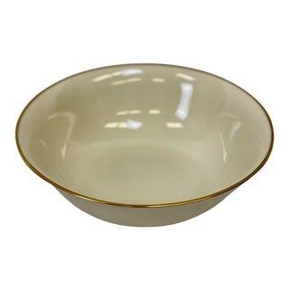 """Vintage Lenox Mansfield 9"""" Vegetable Serving Bowl For Sale"""