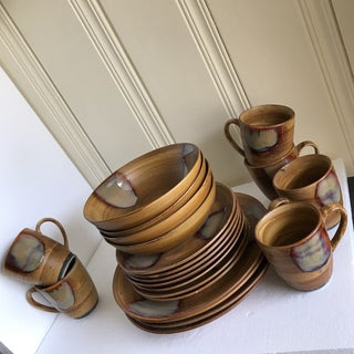 Pottery Plates, Bowls & Cups - Set of 21 Preview