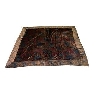Mirella Spinella Cut Silk Velvet Textile For Sale