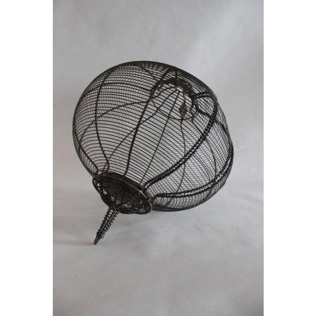West Elm Circular Hanging Lantern - Image 4 of 8