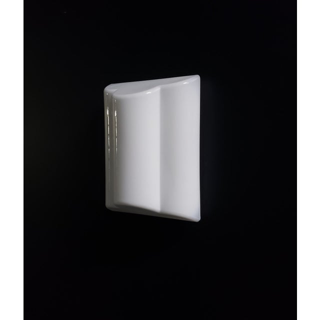 Leucos Italian Modern Murano Glass Sconce by Leucus For Sale - Image 4 of 6