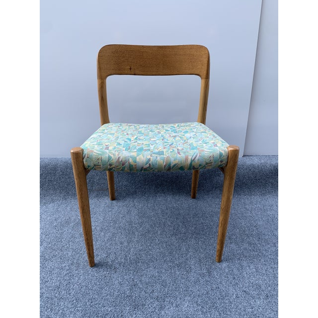 1960s Danish Side Chair by j.l. Moller for Højbjerg For Sale - Image 9 of 12