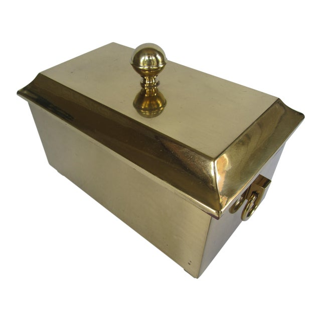 Brass Lided Box For Sale