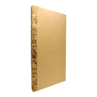 2010s Hand-Made Vellum Quarto Book Traditionally Bound Journal by M. Allen For Sale