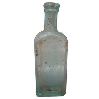 Vintage Hamlins Glass Bottle For Sale